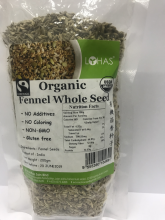 Sade Trading :: Spices & Hebs :: Organic Fennel Whole Seeds